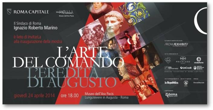 """""""L'ARTE DEL COMANDO. L'EREDITA' DI AUGUSTO"""" - MUSEO DELL'ARA PACIS"""